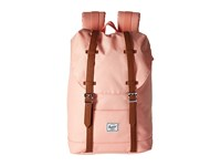Herschel Retreat Mid Volume Apricot Blush Tan Synthetic Leather Backpack Bags Orange