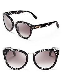 Toms Yvette Sunglasses Bloomingdale's Exclusive Clear Black Tortoise Gray Gradient