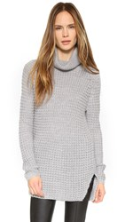 Generation Love Jerry Turtleneck Sweater Grey
