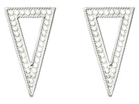 Anna Beck Triangle Post Earrings Sterling Silver Earring
