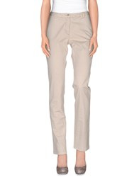 Geox Trousers Casual Trousers Women Light Grey