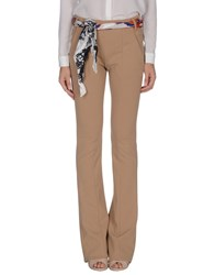 Gianfranco Ferre Gf Ferre' Trousers Casual Trousers Women Sand