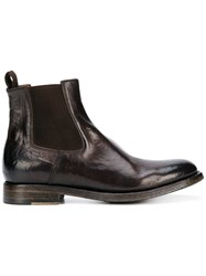 Silvano Sassetti Chelsea Ankle Boots Brown