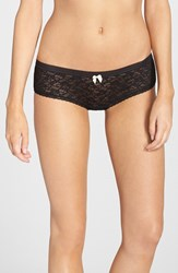 Women's Kensie 'Rhea' Lace Boyshorts Black
