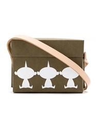 Gloria Coelho The Incredibles' Jack Jack Crossbody Bag Brown