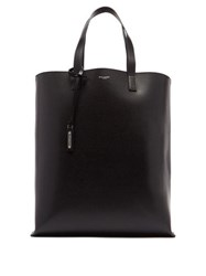 Saint Laurent Leather Tote Black
