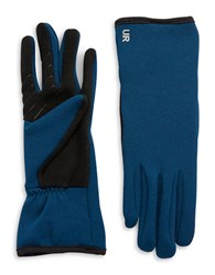 Ur Powered Fleece Lined Tech Gloves Blue