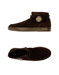 Gold Brothers High Top Sneakers Military Green