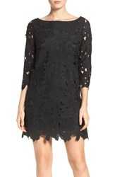 Felicity And Coco 'S Belza Floral Lace Shift Dress Black