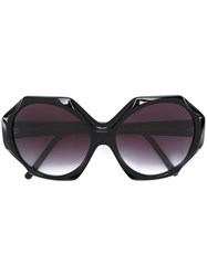 Selima Optique 'Iris Apfelx' Sunglasses Acetate Black