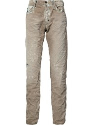 Prps Stain Washed Jeans Nude Neutrals