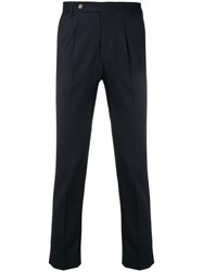 Entre Amis Classic Formal Trousers Blue