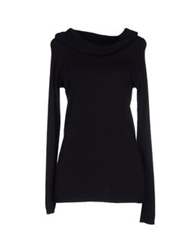 Hanita Turtlenecks Black