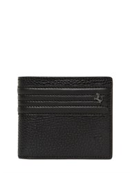 Tod's Ferrari Textured Leather Coin Pocket Wallet