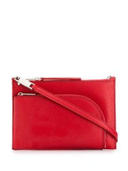 Rick Owens Small Cross Body Bag Red
