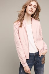 Anthropologie Journey Bomber Pink