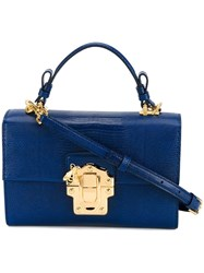 Dolce And Gabbana 'Lucia' Tote Blue