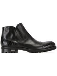 Baldinini Side Zip Boots Black