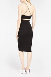 Alexander Wang T By Women S Skinny Strap Camisole Dress Boutique1 Black