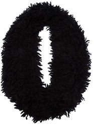 Lost And Found Textured Scarf Black