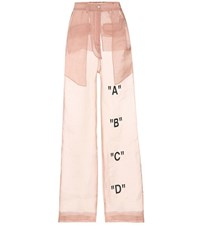 Off White Exclusive To Mytheresa.Com Tomboy Organza Trousers Pink