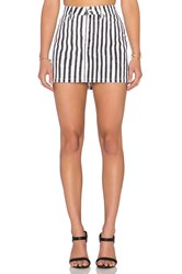 Marc By Marc Jacobs Icon Mini Skirt Black And White