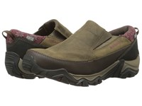 Merrell Polarand Rove Moc Waterproof Black Slate Women's Slip On Shoes