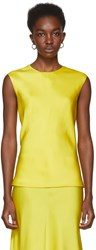 Protagonist Yellow Shell Tank Top