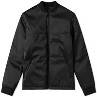 A.P.C. Ned Quilted Bomber Jacket Black