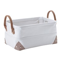 Aquanova Lubin Storage Basket White Small