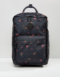 Vans Icono Square Backpack In Floral Print Multicolour