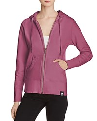 American Giant X Bloomingdale's Holiday Collection Full Zip Hoodie Dusty Amethyst