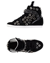 Barbara Bui High Tops And Trainers Black