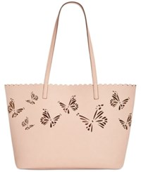 Inc International Concepts Melly Butterfly Tote Only At Macy's Pink