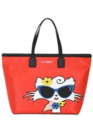 Karl Lagerfeld Choupette Beach Tote Bag