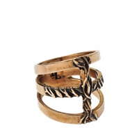 Pamela Love Vine Cross Ring