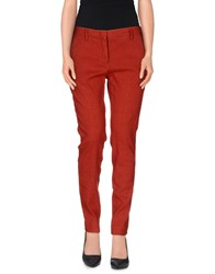 Maliparmi Trousers Casual Trousers Women Rust