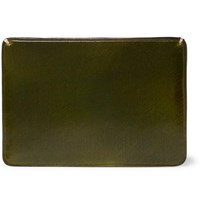Il Bussetto Polished Leather Cardholder Green