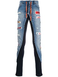 Paul And Shark Faded Distressed Jeans 60