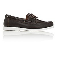 Barneys New York Men's Boat Shoes Brown Size 6 M