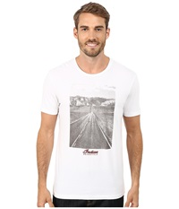 Lucky Brand Open Road Indian Photo Graphic Tee Bright White Men's T Shirt
