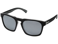 Von Zipper Banner Black Steel Grey Chrome Sport Sunglasses Gray