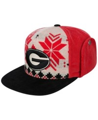 Top Of The World Georgia Bulldogs Christmas Sweater Strapback Cap
