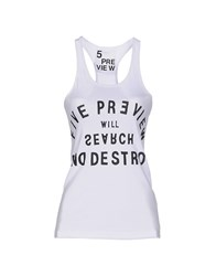 5Preview Topwear Vests Women White