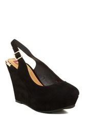 Elaine Turner Designs Jaymee Wedge Slingback Black