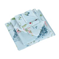 Pip Studio Hummingbirds Blue Towel Hand Towel