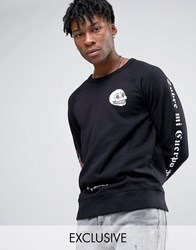 Cheap Monday Rose Sleeve Sweater Black