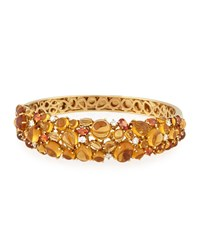Roberto Coin 18K Citrine Sapphire And Diamond Bangle Bracelet