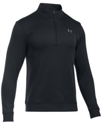 Under Armour Men's Quarter Zip Storm Fleece Sweater Black