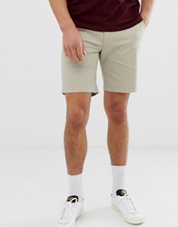 Ben Sherman Stretch Chino Shorts Stone
